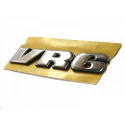 Logo VR6 chromé de hayon