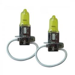 Ampoules H3 GoldVision jaune (la paire)