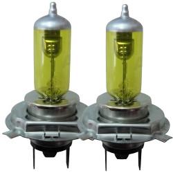 Ampoules H4 GoldVision jaune (la paire)