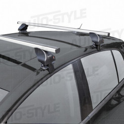 Barres de toit en aluminium pour Golf 4