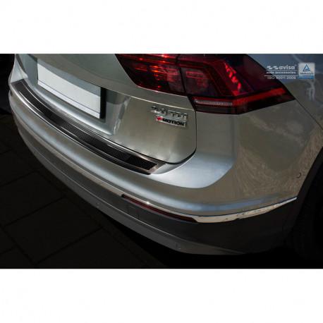 VW Tiguan 2 ad1 1.4 Sti Chrome Acier Inoxydable Calandre Moulures barres 2 pièces