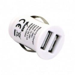 Chargeur double USB pour prise allume cigare 12 volts