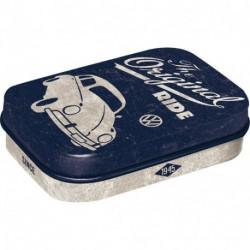 Mini boite métal avec bonbons menthe Cox Original Ride NA81325