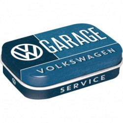 Mini boite métal avec bonbons menthe VW Garage NA81339