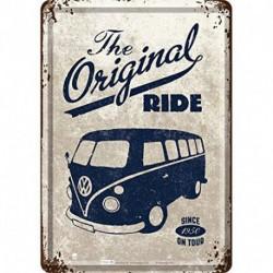 Carte postale métal Combi Original Ride NA10226 NOSTALGIC ART