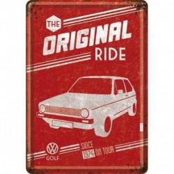 Carte postale métal Golf Original Ride NA10271 NOSTALGIC ART