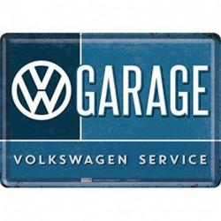 Carte postale métal VW garage NA10282 NOSTALGIC ART