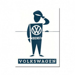 Magnet 8 x 6 cm VW Man NA14348 NOSTALGIC ART