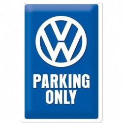 Plaque métal relief 30 x 20cm VW parking only NA22194 NOSTALGIC