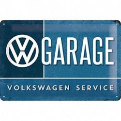 Plaque métal relief 30 x 20cm VW garage NA22239 NOSTALGIC ART