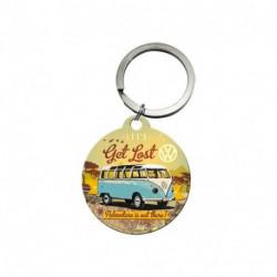 Porte clés 4 cm Combi Let's Get Lost NA48021 NOSTALGIC ART