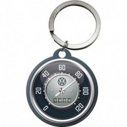 Porte clés 4 cm compteur VW NA48022 NOSTALGIC ART