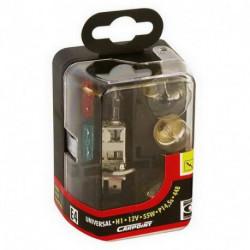 Coffret avec ampoules H1 et fusibles UN0725008 PLANET LINE