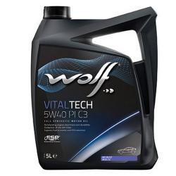 Huile VILTALTECH 5W-40 bidon de 5 litres CH5W40-5L WOLF