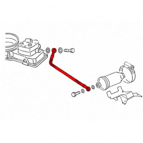 Flexible à carburant vers plateau sonde 17013308 WERK34