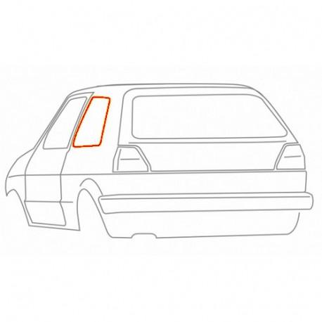 Joint de vitre arrière gauche (pour chrome) 19084519 WERK34