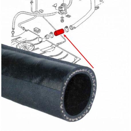 Tuyau caoutchouc entre réservoir et goulotte 17020102 WERK34