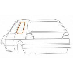 Joint de vitre arrière gauche 19084517 WERK34