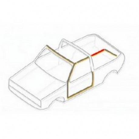 Joint arrière gauche entre capote et vitre 15087115 WERK34