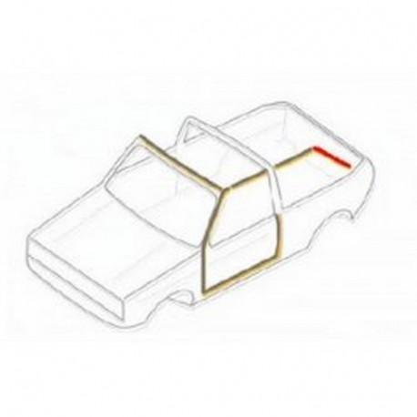 Joint vertical gauche entre capote et vitre 15087117 WERK34