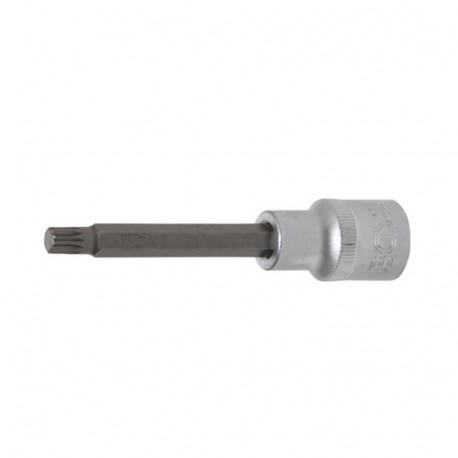 Douille M8 multipan XZB 1/2 pouces longueur 100 mm BG4361 BGS